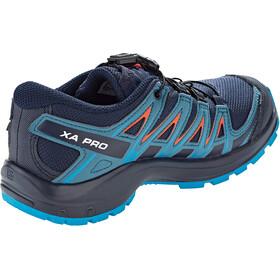 Salomon XA Pro 3D CSWP Chaussures Adolescents, navy blazer/mallard blue/hawaiian